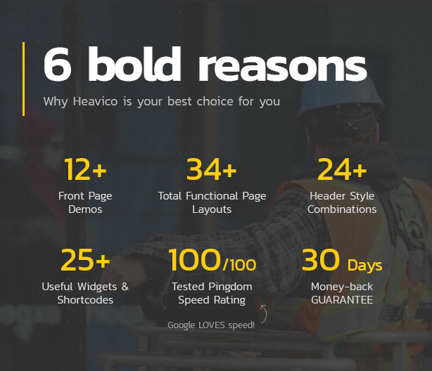 6 reasons why Heavico is the best choice for you