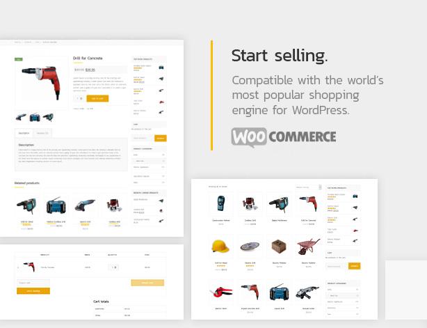 Start selling.